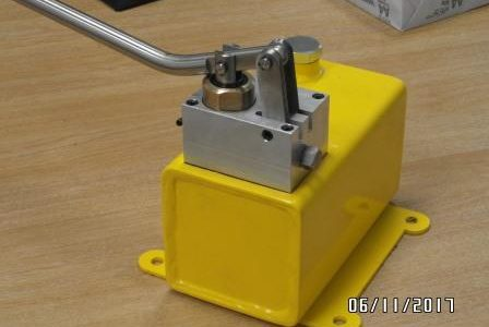 HYDRAULIC SINGLE STAGE PUMP