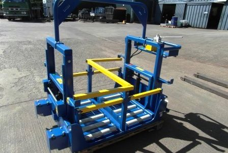 HYDRAULIC BATTERY TRANSFER TROLLEY